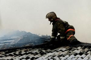 Ночью в Мелитополе горел многоквартирный дом
