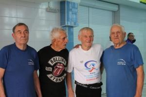 В Запорожье 90-летние дедушки установили новый мировой рекорд