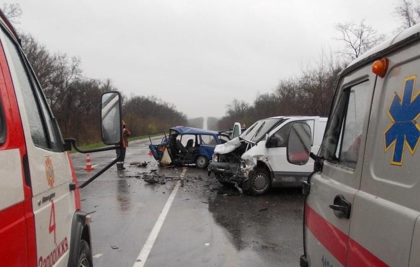 Ужасное ДТП натрассе Харьков— Симферополь: погибли три человека