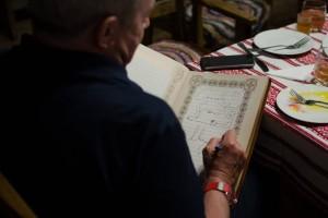 Андрей Макаревич оставил необычный «автограф» на Хортице