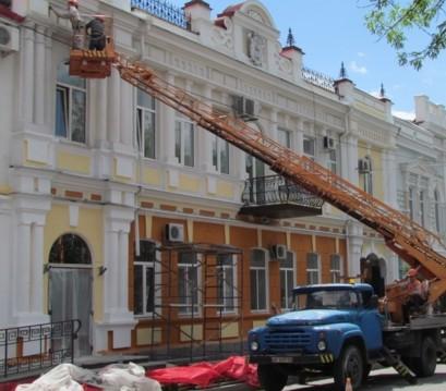 Исполком одобрил смету на ремонт здания мэрии