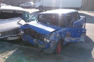 Массовое ДТП в Мелитополе: три ВАЗа и мотоцикл не смогли разминуться