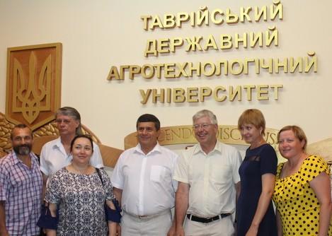 Мелитополь посетил посол ООН в Украине