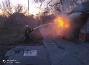 В Мелитополе в собственном доме сгорел мужчина