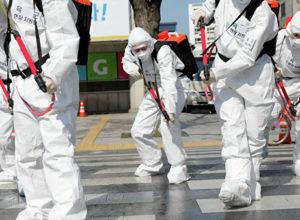 Жидкости для дезинфекции городских дорог хватило на 7 минут