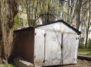 самовольный гараж
