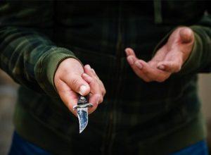 Под Васильевкой военнослужащий изрезал ножом свою жертву