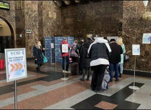 В Запорожье на ж/д вокзале открыли пункт вакцинации и экспресс-тестирования